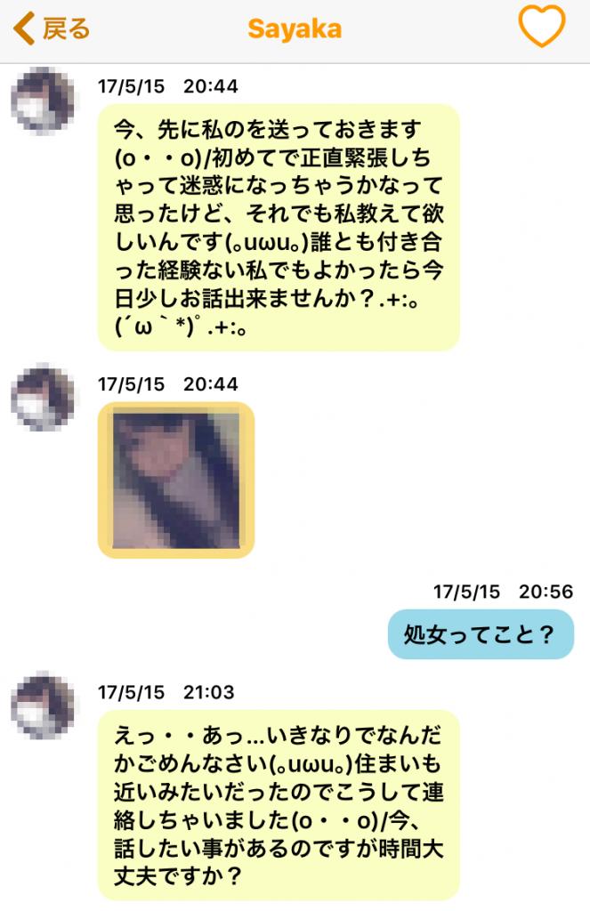 sayaka1 663x1024 - 「夜フレ」の「Sayaka」はサクラ